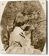 Alice Liddell, Alices Adventures Acrylic Print