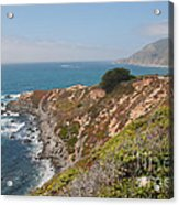 Along Big Sur Acrylic Print
