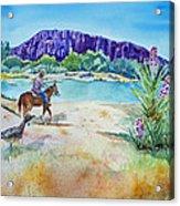 Texas - Along The Rio-grande Acrylic Print