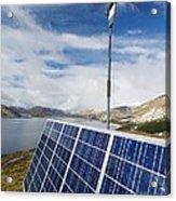 Alternative Energy Sources Acrylic Print
