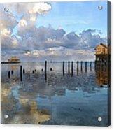 Ambergris Caye Belize Acrylic Print