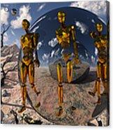 An Advanced Civilization Uses Time Acrylic Print