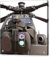 An Ah-64d Apache Helicopter Acrylic Print