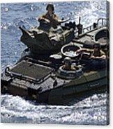 An Amphibious Assault Vehicle Acrylic Print