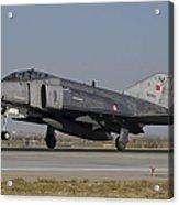 An F-4 Phantom Of The Turkish Air Force Acrylic Print