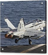 An Fa-18c Hornet Taking Acrylic Print
