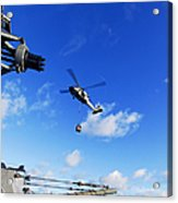An Mh-60s Sea Hawk Helicopter Acrylic Print