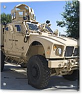 An Oshkosh M-atv Mine Resistant Ambush Acrylic Print