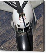 An Rc-135 Rivet Joint Reconnaissance Acrylic Print by Stocktrek Images