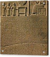 Ancient Astronomical Calendar Acrylic Print