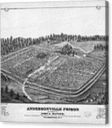 Andersonville Prison, 1864 Acrylic Print