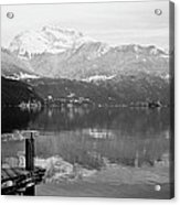 Annecy The Lake Acrylic Print