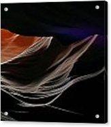 Antelope Canyon Perspective Acrylic Print