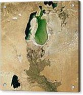 Aral Sea Acrylic Print