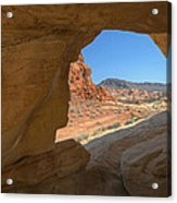 Arch Valley Of Fire Acrylic Print