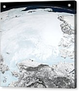 Arctic Sea Ice Acrylic Print