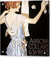 Arrow Shirt Collar Ad Acrylic Print
