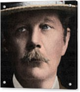 Arthur Conan Doyle, Scottish Author Acrylic Print