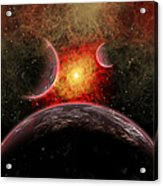 Artist Concept Illustrating The Stellar Acrylic Print