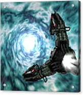 Artists Concept Of The Assimilators Acrylic Print by Rhys Taylor