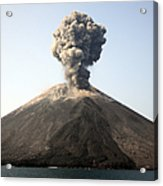 Ash Cloud From Vulcanian Eruption Acrylic Print