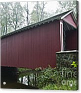Ashland Covered Bridge Acrylic Print
