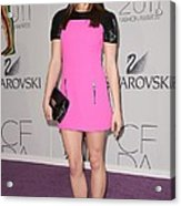 Ashley Greene At Arrivals For The 2011 Acrylic Print