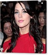 Ashley Greene At Arrivals For The Acrylic Print