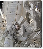 Astronaut Participates In A Session Acrylic Print