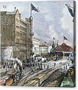 Atlanta, Georgia, 1887 Acrylic Print