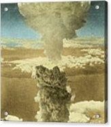 Atomic Bombing Of Nagasaki Acrylic Print by Omikron