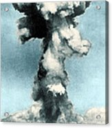 Atomic Bombing Of Nagasaki Acrylic Print