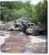 Au Natural Dam Acrylic Print