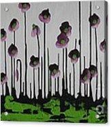 Aubergine Autumn Acrylic Print