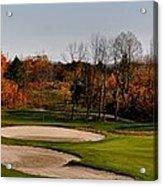 Autumn Golfing  Acrylic Print