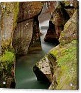 Avalanche Gorge Acrylic Print