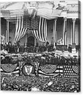 B. Harrison Inauguration Acrylic Print