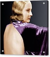 Baby Face, Barbara Stanwyck, 1933 Acrylic Print by Everett