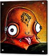 Bad Boy Glob Acrylic Print by Leanne Wilkes
