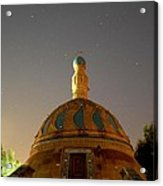 Baghdad Mosque Acrylic Print by Rick Frost