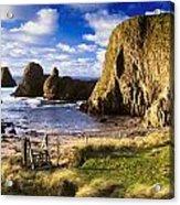 Ballintoy, County Antrim, Ireland Beach Acrylic Print