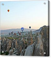 Balloon Ride Acrylic Print