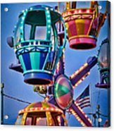Balloon Ride No. 5 Acrylic Print by Colleen Kammerer