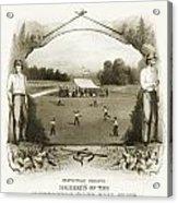 Baseball, 1861 Acrylic Print