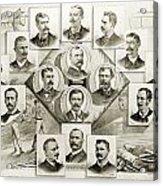 Baseball, 1894 Acrylic Print