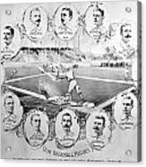 Baseball, 1895 Acrylic Print