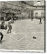 Baseball: Brooklyn, 1890 Acrylic Print
