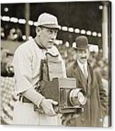 Baseball: Camera, C1911 Acrylic Print
