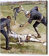 Baseball Game, 1885 Acrylic Print