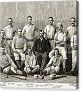 Baseball: Providence, 1882 Acrylic Print
